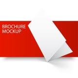 Mockup brochure blank3-01 Royalty Free Stock Photo