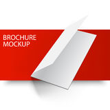 Mockup brochure blank5-01 Stock Image