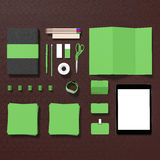 Mockup business template. Stock Photography