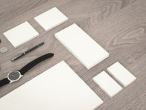 Mockup business template. Royalty Free Stock Photography