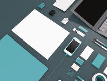 Mockup business template Royalty Free Stock Image