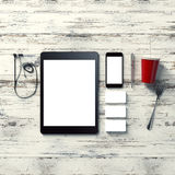 Mockup business template. High definition