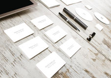 Mockup business template Royalty Free Stock Images