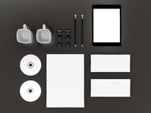 Mockup business template. High resolution Stock Image