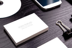 Mockup business template Royalty Free Stock Photo
