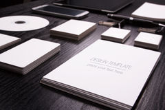 Mockup business template. High resolution. 3D reander Stock Photography
