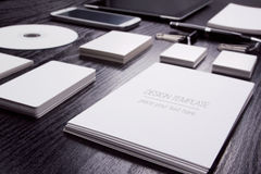 Mockup business template Royalty Free Stock Photos