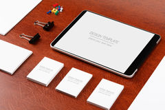 Mockup business template Royalty Free Stock Photography