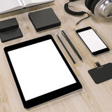 Mockup business template. High resolution. Stock Images