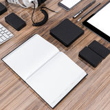 Mockup business template. High resolution. Royalty Free Stock Images