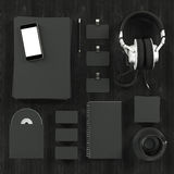 Mockup business template. High resolution. Royalty Free Stock Photos