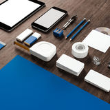 Mockup business template. High resolution. Royalty Free Stock Photography