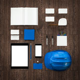 Mockup business template. High resolution. Stock Photography