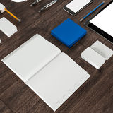 Mockup business template. High resolution. Stock Photos