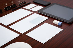 Mockup business template. Stock Images