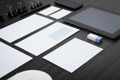 Mockup business template. royalty free stock images