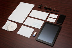 Mockup business template. royalty free stock photo