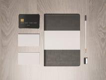 Mockup business template.  Premium Stock Photo