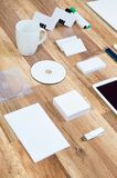 Mockup business template Stock Photography