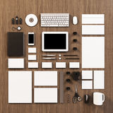 Mockup business template royalty free illustration