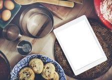 Mockup Copyspace Hands Digital Tablet Concept royalty free stock photos