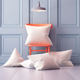Mockup pillows in the interior. 3d Stock Photography