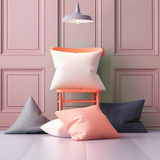 Mockup pillows in the interior. 3d Stock Images