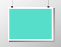 Mockup poster Royalty Free Stock Images