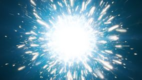 Mockup. Powerful energy background. Spark and fire background royalty free illustration
