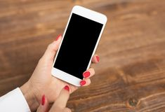 Mockup smartphone Obraz Stock