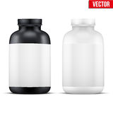 Mockup Sport Vitamin Container. Royalty Free Stock Images