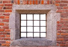 Mockup of window lattice Royalty Free Stock Image