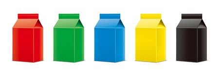 Mockups for packaging drinks. Version. royalty free stock photos