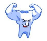 mocne zęby Royalty Ilustracja