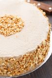 Moco cake with almond Stock Photography
