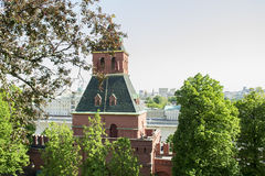 Mocsow Kremlin Tower (a view from inside) Stock Photography