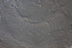 Moczę mieszał cementowego podłogowej budowy textured tło Obraz Stock