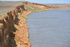 Moczy banka Volga rzeka Obrazy Royalty Free