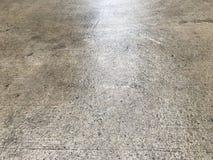 Moczy betonowej podłoga Obrazy Stock