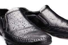 Moczy buty fotografia stock