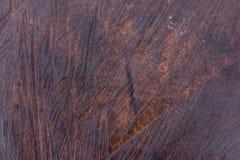Moczy ciemnego brązu drzewnego bagażnika tło lub teksturę Fotografia Royalty Free