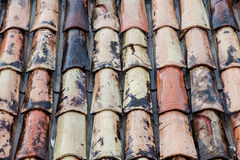 Moczy dachowego tło Fotografia Stock