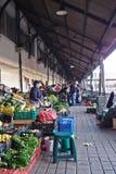 Moczy rynek w ranku w Porto Zdjęcie Royalty Free