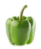 Moczy zieloną paprykę Zdjęcia Royalty Free