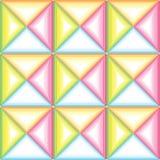 Modèle à carreaux des triangles Image stock