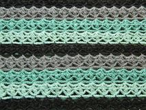 Modèle à crochet multicolore Photo stock