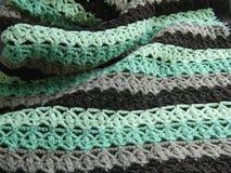 Modèle à crochet multicolore Photos libres de droits