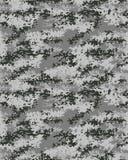 Modèle à la mode de camouflage de Digital Photographie stock libre de droits