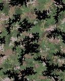 Modèle à la mode de camouflage de Digital Image stock