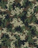 Modèle à la mode de camouflage de Digital Photos libres de droits